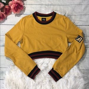 NWOT LF the Brand Rugby Striped Long Sleeve Tee